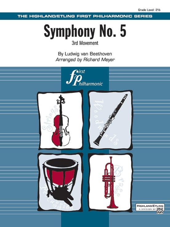 Highland Music - Sheet music catalog - Symphony No  5, 3rd Movement